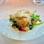 リストランテ・ヒロ・チェントロ - 前菜       ローストポークのサラダ