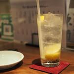 teppannikubaruburujowa - レモンサワー