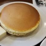 元町サントス - ホットケーキセット バター(700円)