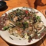 ねお 豊田 うりずん あぐー豚と旬菜うまいもん屋 - つまのサラダ