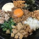 煮干しらーめん専門店 麺屋 晴 - 料理写真:煮干まぜそば@850円