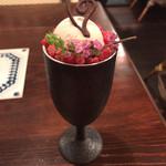 クレープリー 京都シャンデレール - ほうじ茶パフェ