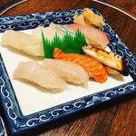 寿し勝 - 地魚にぎり1,500円