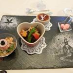 アニヴェルセル - 試食 肉料理