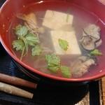 106846590 - この牡蠣汁美味しかった〜。