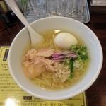 塩生姜らー麺専門店 MANNISH - 塩生姜らー麺・味玉