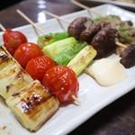 106850664 - 野菜串の盛り合わせ
