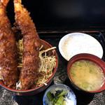 106854794 - エビヒレ丼(ご飯少なめ)
