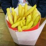 フレンチフライズ - 料理写真:シューストリングポテト (税込)400円 ※少し食べたあと(2019.05.01)