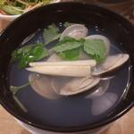 すし三崎丸 - 蛤のお吸い物