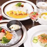 レストラン クレール - 料理写真:お得な女子会コースあります 1人1800円