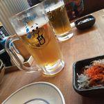 博多満月 - 生ビール