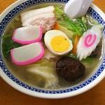 横浜ラーメン龍味 - 五目ラーメン