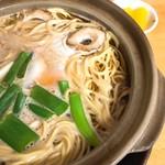 まゆみの店 - 鍋焼きラーメン(大)