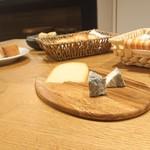 レ・カネキヨ - Fromafe d' Hokkaido ~北海道産チーズ~ 十勝産チーズの盛合わせ