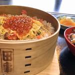 料理旅館 田事 - 鮭の親子めっぱめし