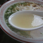 十神ラーメン - 十神ラーメン・ラーメン スープ