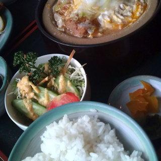 むら重 - 料理写真:カツ鍋