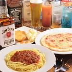 BAR Hollyhock - 料理写真:飲み放題プラン3500円イメージ画像