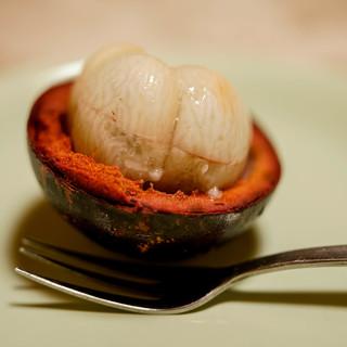 つる由 - 料理写真:マンゴスチン