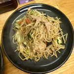 中華ゴング - 料理写真:焼きそば500円