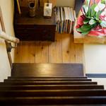 萬御菓子誂處 樫舎 - 階段