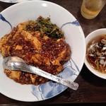 四川麺家 龍の子 - マーボー丼 700円