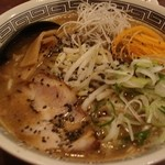 ラーメン五歩  - 黒ごま味噌ラーメン 700円