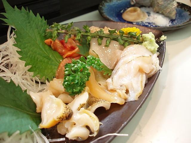 浜寿司 - 貝盛り合わせ