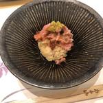 106880870 - トロと奈良漬の小丼