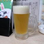 魚介別館 のみすけ - 生ビール