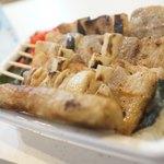 ハセガワストア - 料理写真:やきとり弁当大
