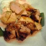 旬菜美酒 びんび家 - 地鶏の炙り焼き