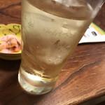 都寿司 - ドリンク写真:ハイボール