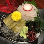 いろり - 白海老食べくらべ
