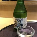 106898100 - 市島町純米吟醸「小鼓」300ml、日本酒苦手っておっしゃるお連れ様が、半分飲まれましたよ(^^♪(2019.5.2)