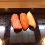 すし寳来 - 鮪、鯛、鱒の助