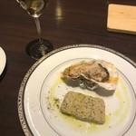 エス小林 - 料理写真:牡蠣と牡蠣のテリーヌ