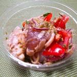 サルメリア ガリバルディ - まぐろとトマトのカルパッチョ