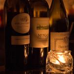 バー グルーム - 日替わり 赤ワイングラス