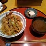 天ぷら魚新 - 特製天丼