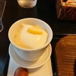 見蘭牛ダイニング 玄 - 杏仁豆腐