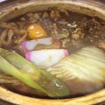 讃岐うどん六平 - 剛麺 牛肉 野菜 八丁味噌 いいじゃないの