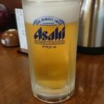 越谷砂場 - ドリンク写真:生ビール。