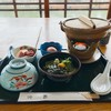 鮎宗 - 料理写真:うなぎ雑炊 1,400円 茶そばも付いておトクです♫