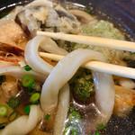 うどんひだか - 天ぷらうどん 太麺