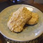 つむぎカフェ - きなこ餅