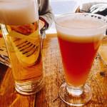 東京ブッチャーズ with OKACHI Beer Lab - Ameyokoドライ¥550  Kachi KuraIPA¥580 IPA爽やかで飲みやすいです