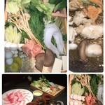 106932524 - 20種の野菜盛り、キノコの種類が知らないものも沢山で、楽しい。