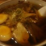 河むら - 醤油ラーメン 700円+味玉 100円